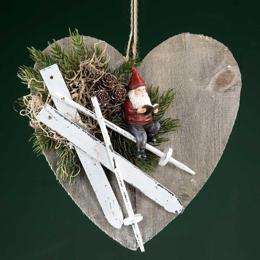 Tomte stick, set om 2 st, dekoration