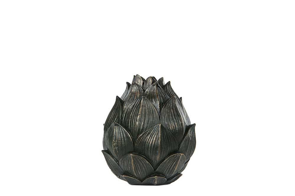 ljusstake kronärtskocka, mörk brun