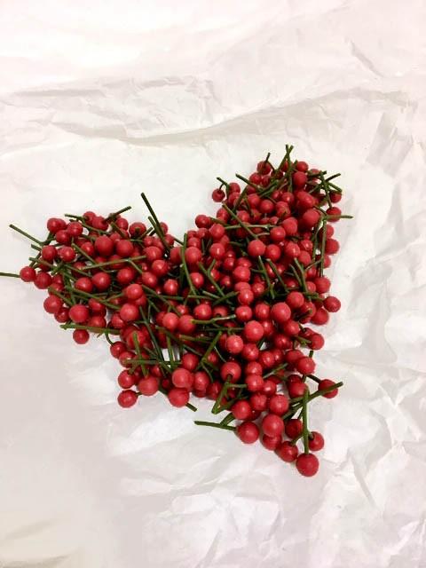 röda bär, 50 gram