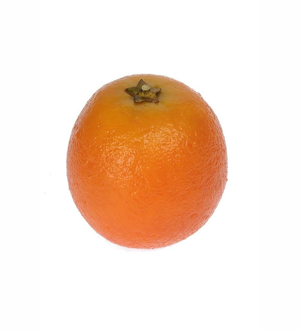 Apelsin, konstgjord frukt