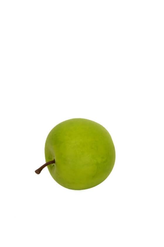 Äpple, mini, konstgjord frukt