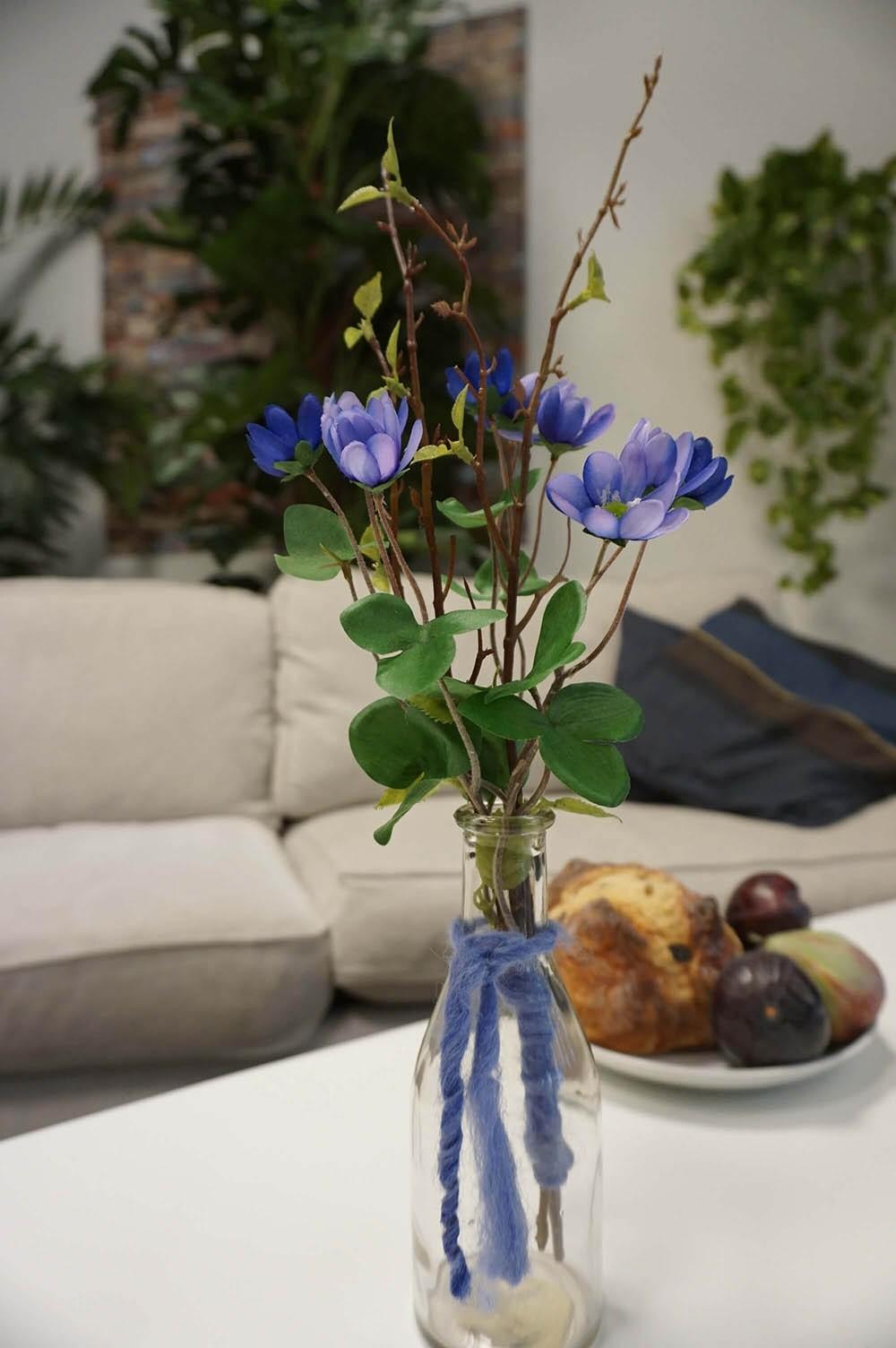 Bukett, Våren i glasflaska, konstgjord