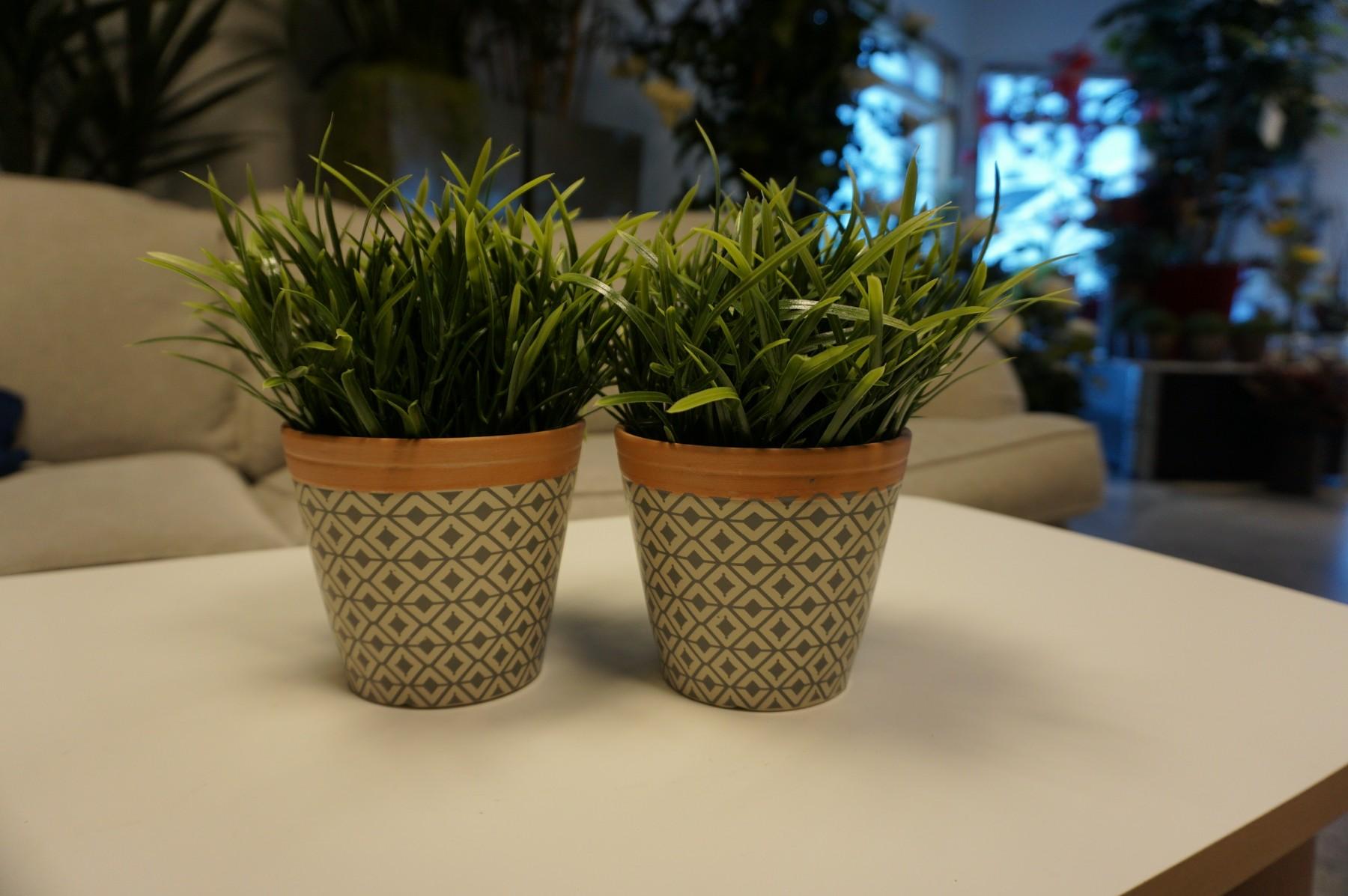 Gräsplanta konstgjord växt