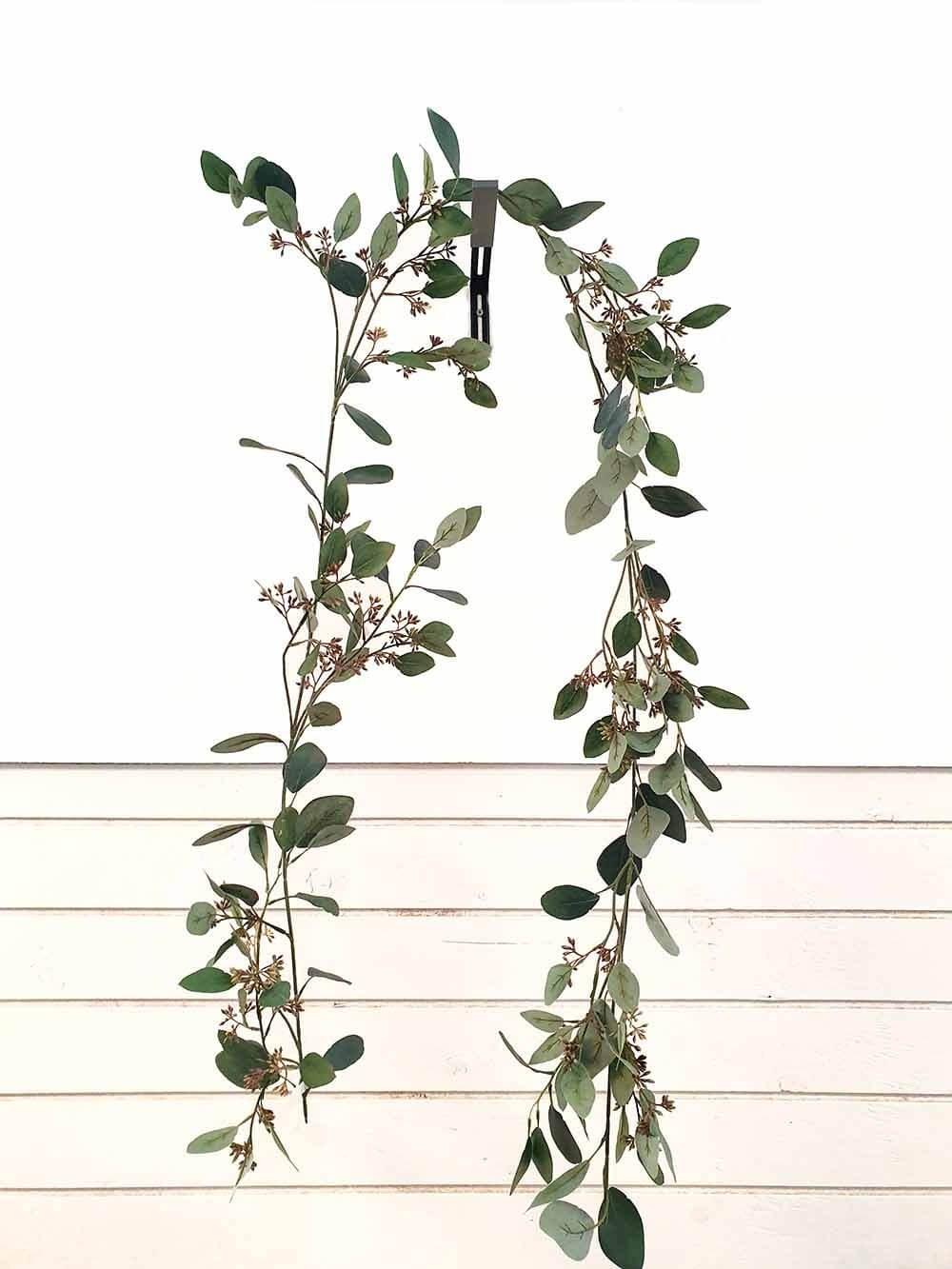 Eucalyptus girlang, konstgjord