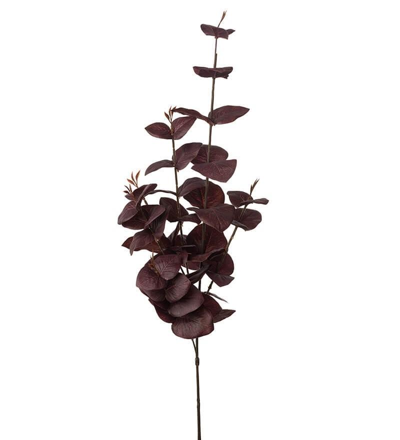 Eucalyptus, vinröd, konstgjord kvist