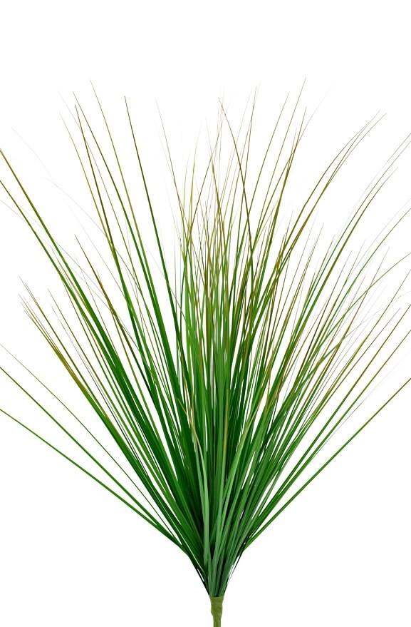 Gräs bush, grön, konstgjord växt