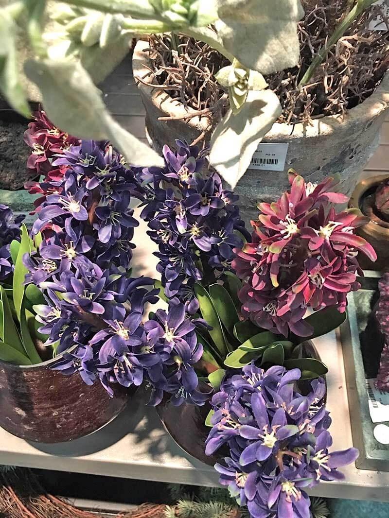 Hyacint, vinröd, konstgjord