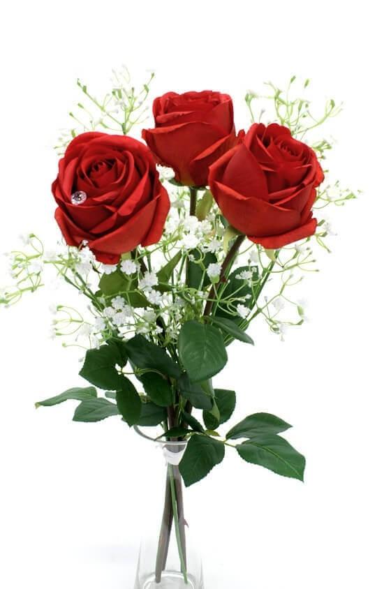 Bukett Älskling, konstgjorda blommor