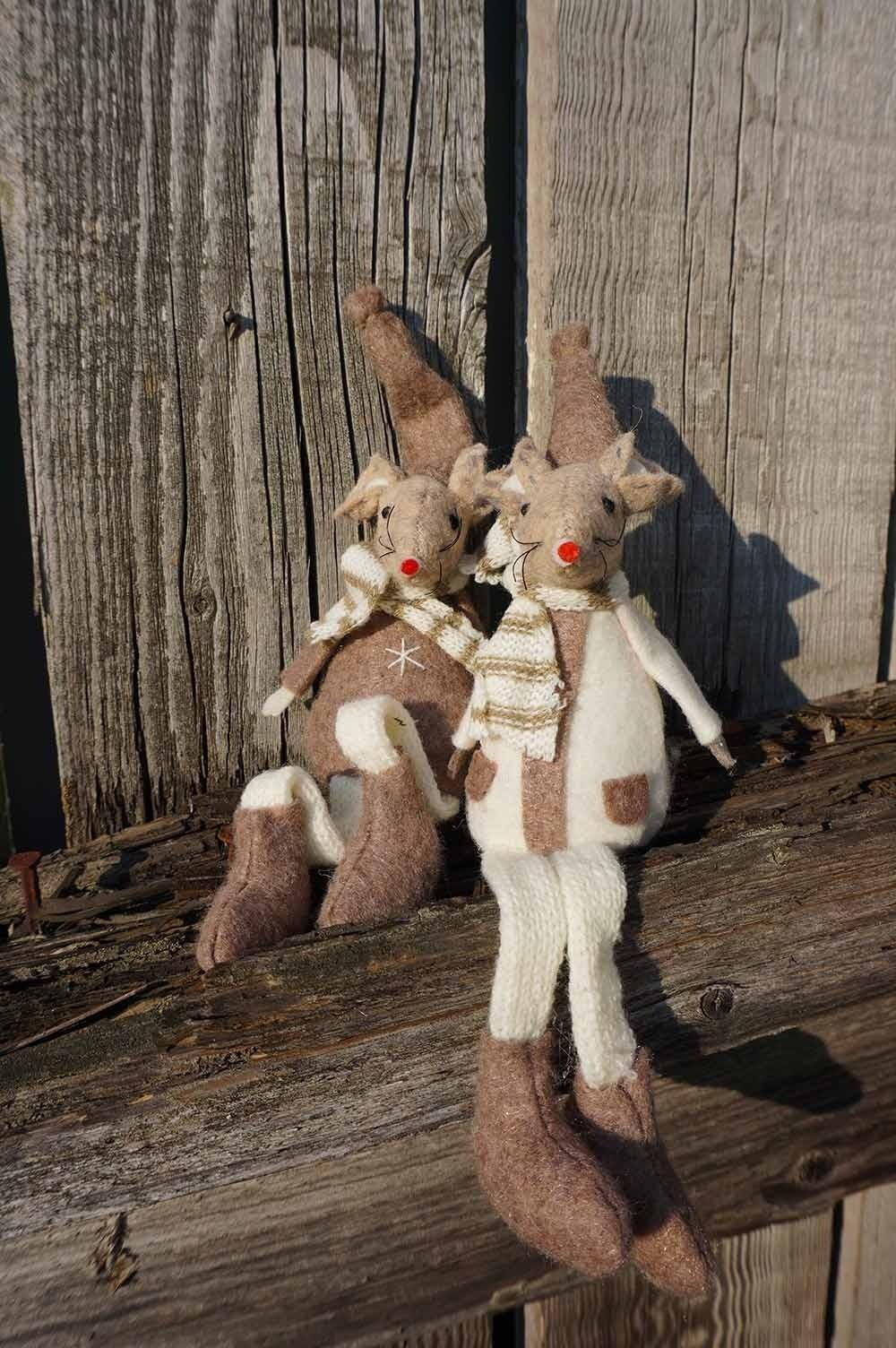 Möss, Mysan och Muffins, sittande 2 stycken