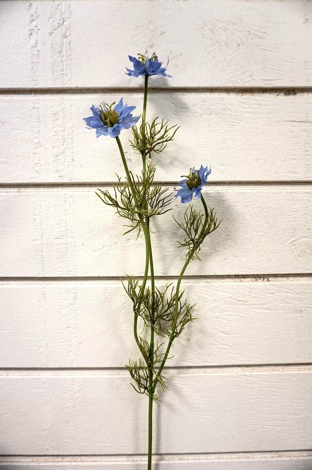 Nigella, konstgjord blomma