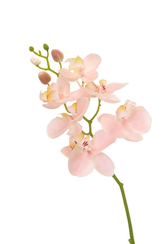 Orkidéstängel, rosa, konstgjord