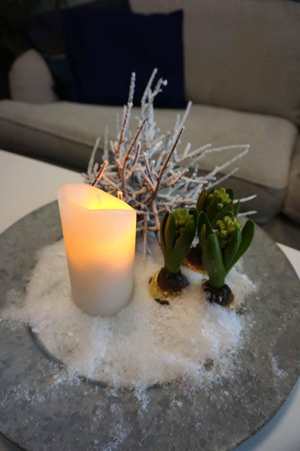 Snö, konstgjorda snöflingor