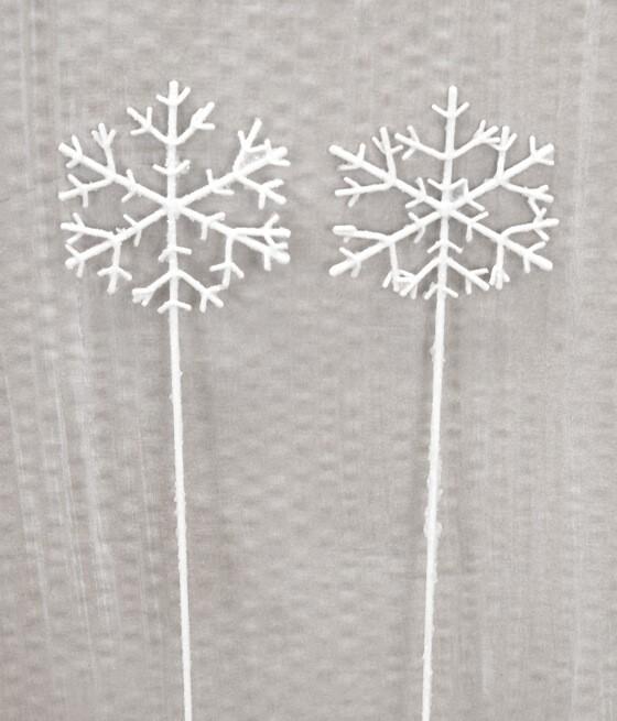 Snöflinga, stick 2 st
