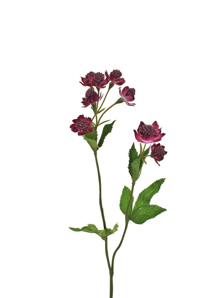 Stjärnflocka, lila, konstgjord blomma