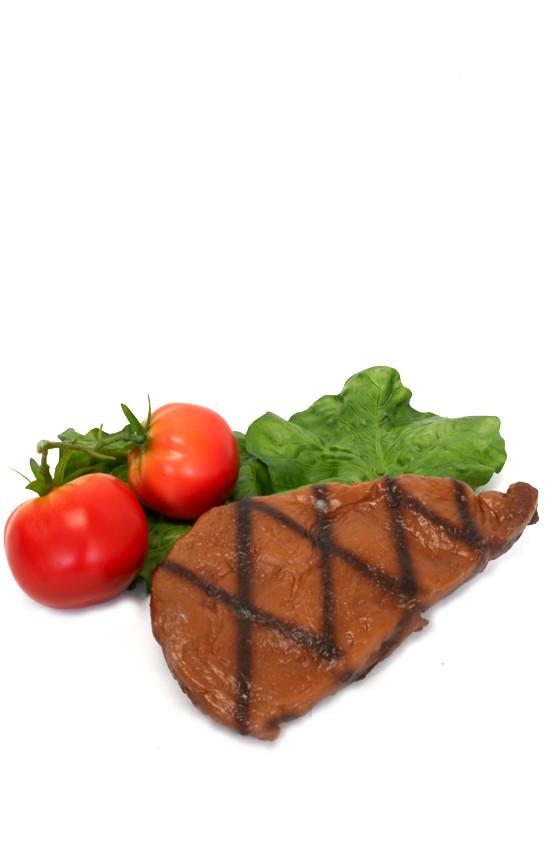 kött, entrecote grillad