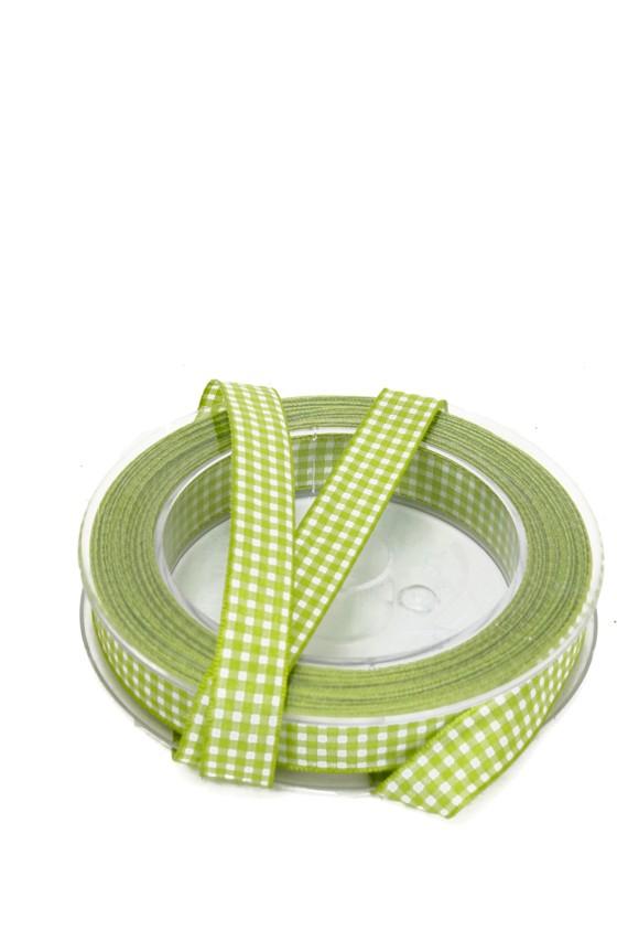 band rutigt, grönt