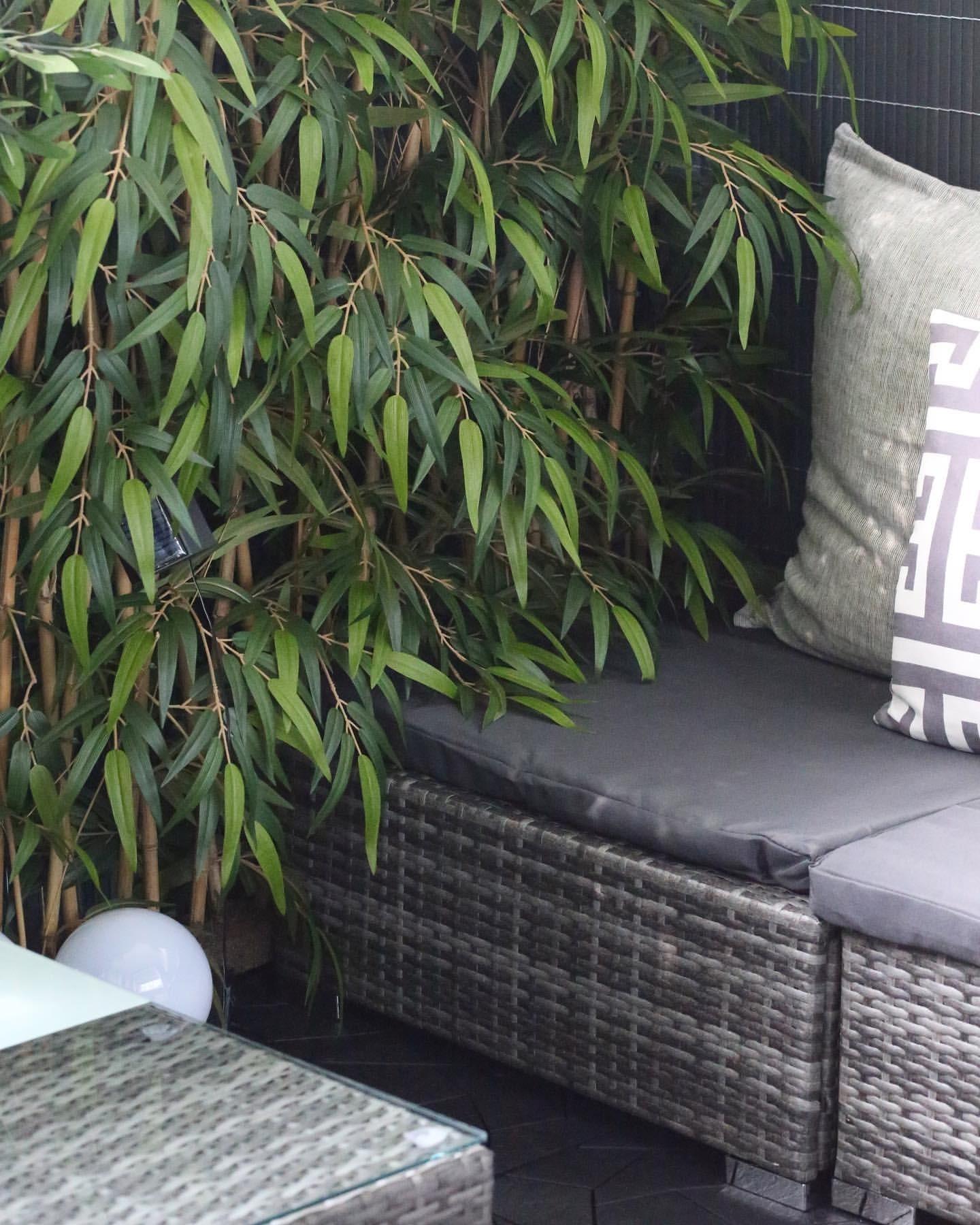 Bambu spaljé, konstgjord