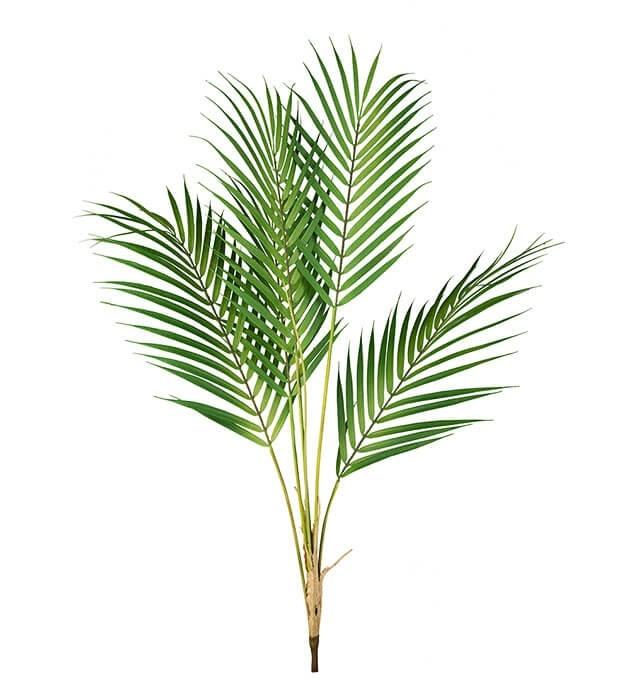 Bergspalm, konstgjord kvist, blad