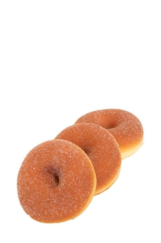Donuts, sockermunkar, 3 st, konstgjorda