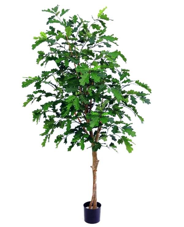 Ek, konstgjort träd