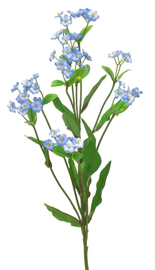 Förgätmigej eller Forget me not, konstgjord blomma