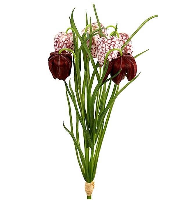 Frittilaria, Kungsäljslilja, konstgjord blomma