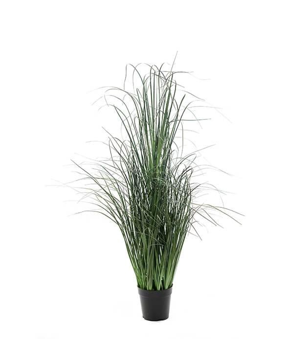 Gräs i kruka, konstgjort