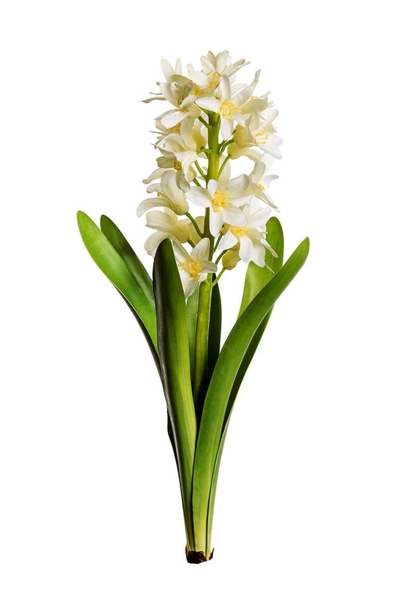 Hyacint, vit, konstgjord
