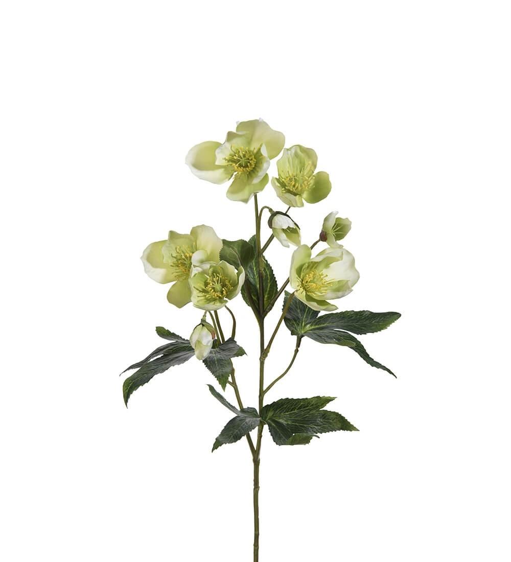 Julros, lime creme, konstgjord blomma