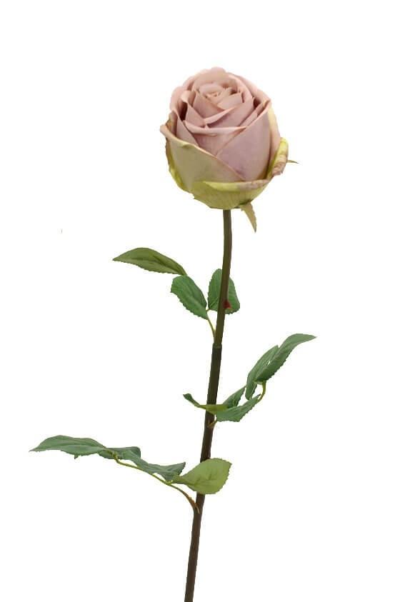 Ros, ljus rosa, konstgjord blomma