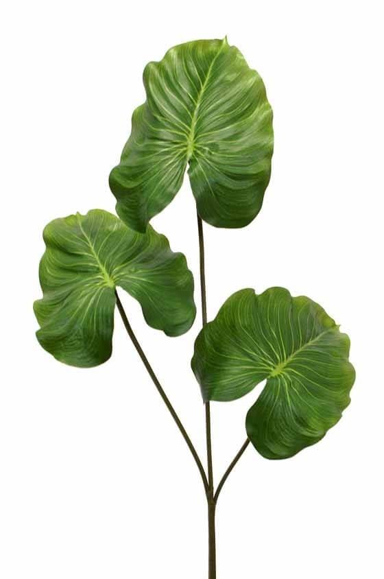 Kvist med 3 blad, konstgjord