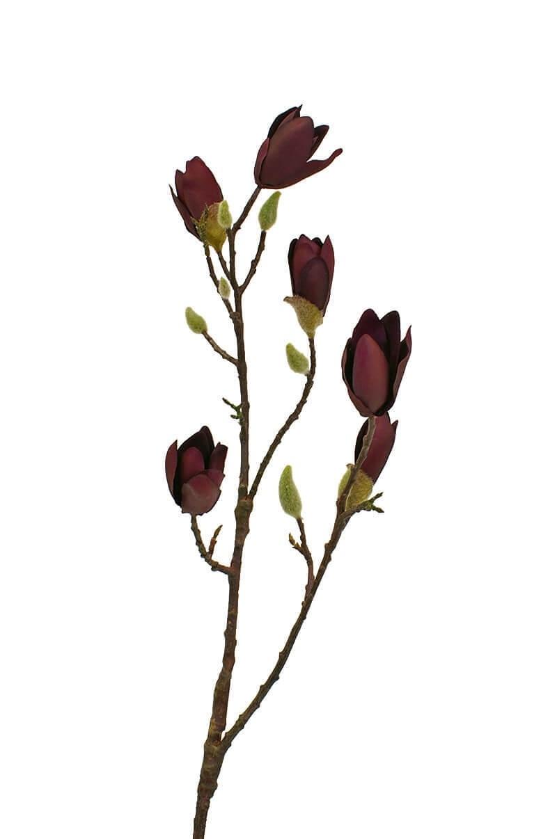 Magnolia, lila, konstgjord blomma