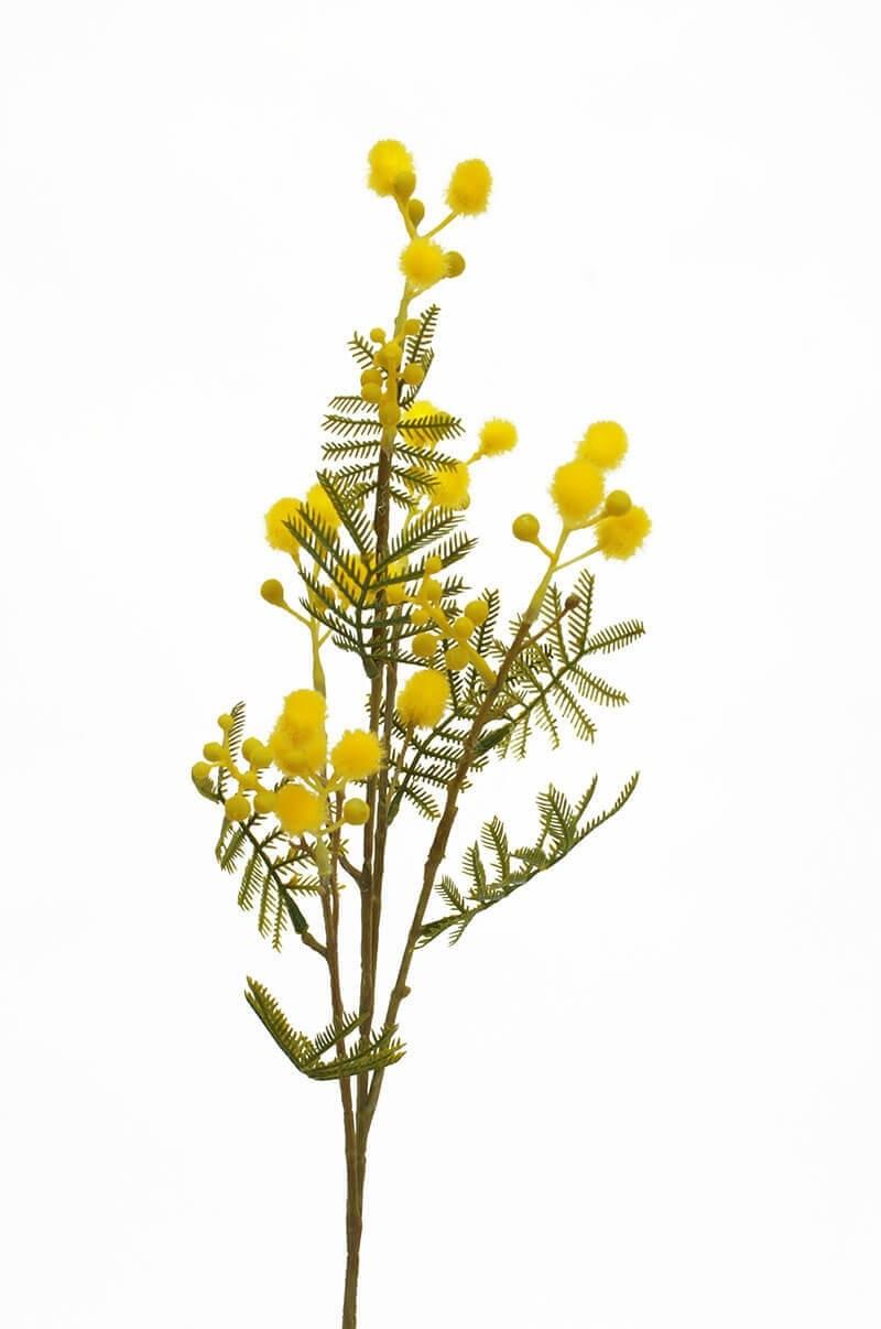 Mimosa, konstgjord kvist
