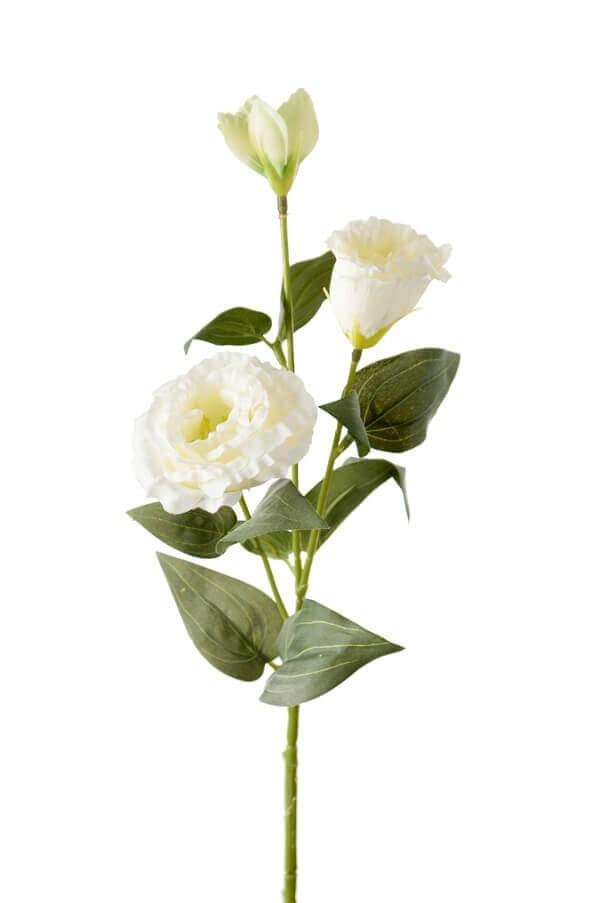 Prärieklocka, vit, konstgjord blomma