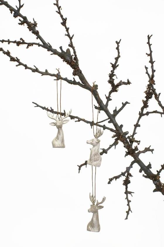 Renhuvud, häng, dekoration
