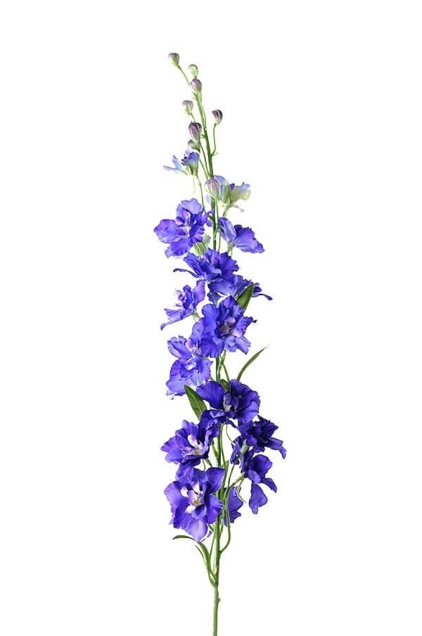 Riddarsporre, blå, konstgjord blomma