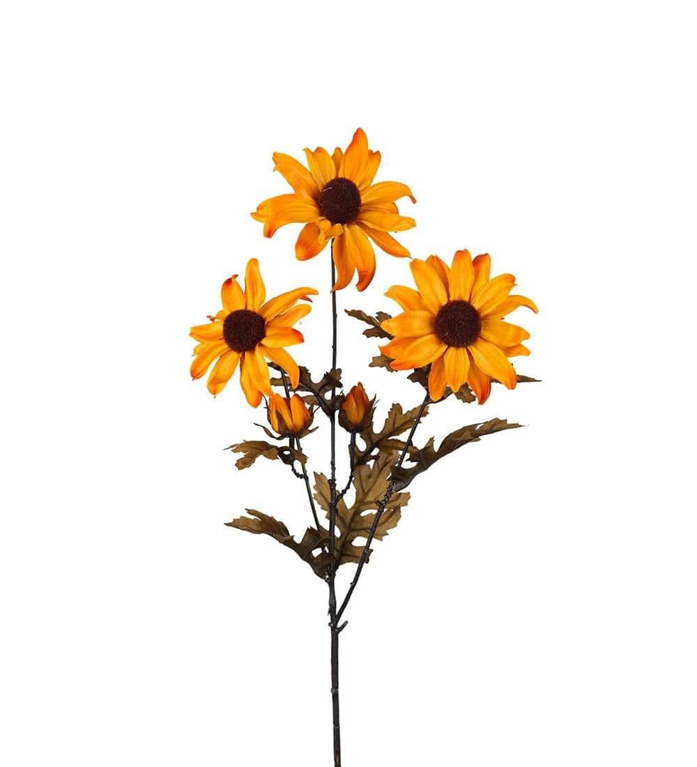 Rudbeckia, gul, konstgjord blomma