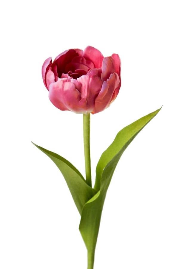 Tulpan, rosa lila, konstgjord blomma