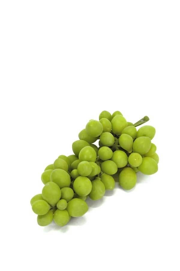 Vindruva, små druvor, grön, konstgjord
