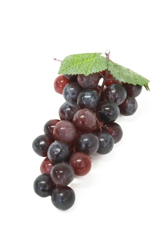 Vindruva liten, vinröd, konstgjord