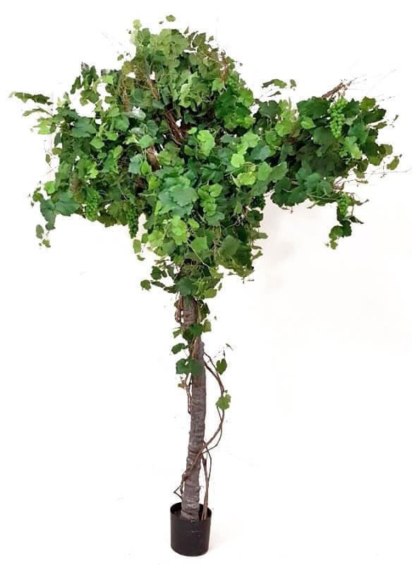 Vinranka, träd, konstgjort