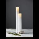 Ljus i vax, kyrkljus LED med timer