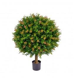Buxbom på stam, konstgjord växt
