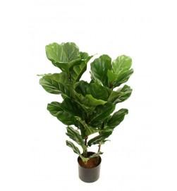 Fiolfikus, konstgjord grön krukväxt