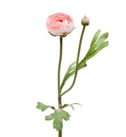 Ranunkel, vit rosa, konstgjord blomma