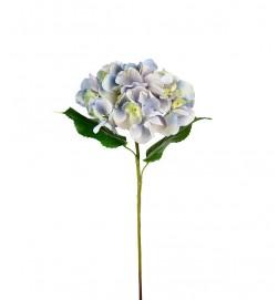 Hortensia,hydrangea, blå, konstgjord blomma