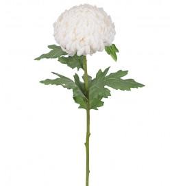Chrysanthemum vit, konstgjord blomma