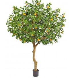 Apelsinträd, grenat, konstgjort träd