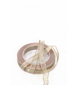 Band, guld med tråd