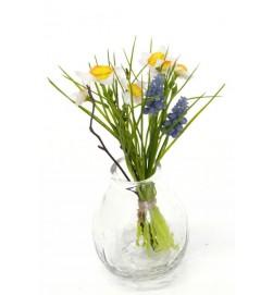 Bukett mini, pingstliljor, konstgjord blomma